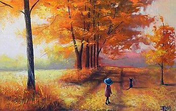 Obrazy - Podzimní výlet - 7867914_
