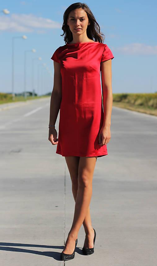 f63514325d0c Elegantné saténové šaty   TrishaFate - SAShE.sk - Handmade Šaty