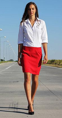 Sukne - Elegantná sukňa Biznis - 7869642_