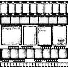 Papier - KaiserCraft - Art of Life Negatives (potlačený acetát so vzorom fotografického filmu, 12x12) - 7867936_