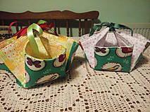 Textil - Košíček na výslužku - 7872133_