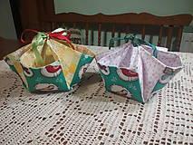 Textil - Košíček na výslužku - 7872134_