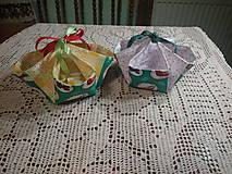 Textil - Košíček na výslužku - 7872144_