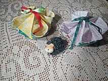 Textil - Košíček na výslužku - 7872157_