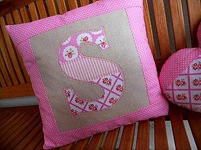 Úžitkový textil - Saška, Sofia či Serena? :), návlečka na podušku - 7869968_