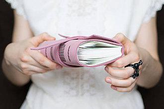 Papiernictvo - Kožený zápisník Helen - 7872855_