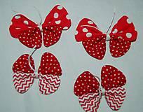 Iné doplnky - motýľ - 7872735_