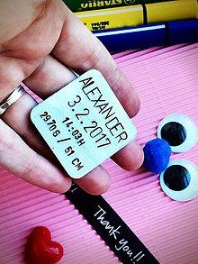 Kľúčenky - MAGNETKA chladničková s Tvojím textom :) - 7876090_