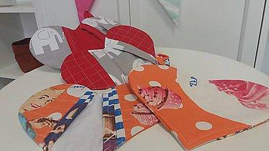 Úžitkový textil - chňapka/srdiečko - 7875816_