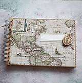 Papiernictvo - Cestovateľský denník / fotoalbum - 7875306_