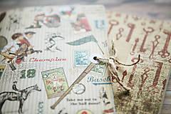 Papiernictvo - Sada retro zápisníkov - 7875322_