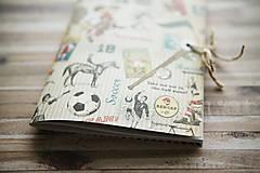 Papiernictvo - Sada retro zápisníkov - 7875324_