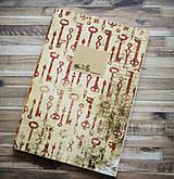 Papiernictvo - Sada retro zápisníkov - 7875325_