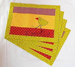 Úžitkový textil - Veľkonočné prestieranie - Z farebného vajíčka n.3 (3) - 7874902_