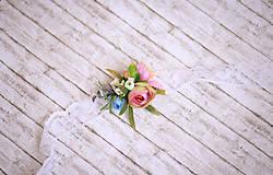 Náramky - Romantický kvetinový náramok - 7876974_