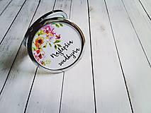 Zrkadielka - Svadobné zrkadielko - 7873015_