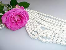 perly korálky 8mm - perly z mušlí
