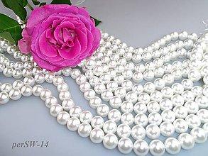 Korálky - perly 10mm, perly z mušlí - 7874974_