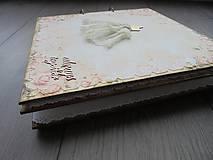 Papiernictvo - Svadobný album - Šaty - novinka - 7875055_