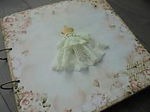 Papiernictvo - Svadobný album - Šaty - novinka - 7875057_
