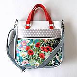 Veľké tašky - Big Sandy - S farebnými kvetmi - 7873926_