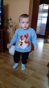 Detský pulovrík : DINO vo vajíčku