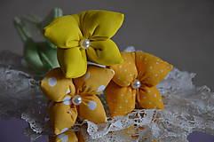 Dekorácie - Tulipán žltý - 7875499_