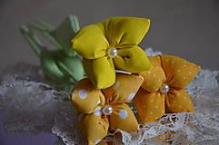 Dekorácie - Tulipán žltý - 7875500_