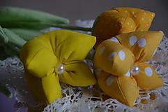 Dekorácie - Tulipán žltý - 7875501_