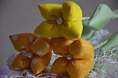 Dekorácie - Tulipán žltý - 7875502_