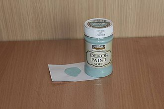 Farby-laky - Decort Paint Soft 100ml-country modrá - 7874514_