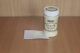 Farby-laky - Decor Paint Soft 100ml - slonovinová - 7874983_
