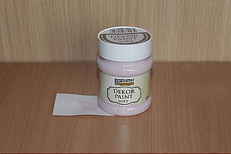 Farby-laky - Decor Paint Soft 230ml-viktoriánska ružová - 7875095_