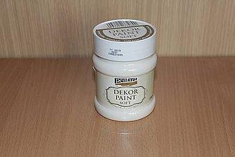 Farby-laky - Decor Paint Soft 230 ml - krémovobiela - 7875139_