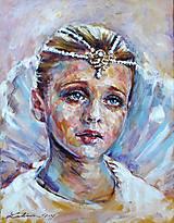 Obrazy - Portrét z rozprávky - 7874023_