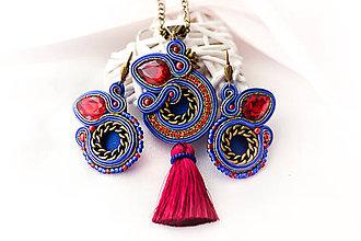 Sady šperkov - Blue - sada - 7873699_