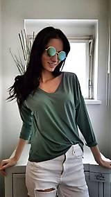 Tričká - Tričko Viola zelené - 7875206_