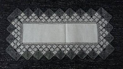 Úžitkový textil - paličkovaná dečka - 7875184_