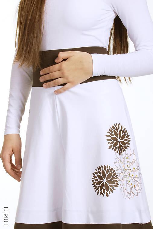 Dámska sukňa KVETY
