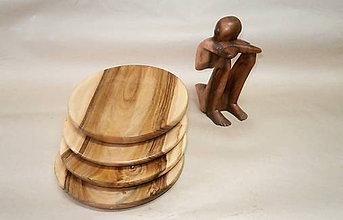 Nádoby - drevený tanier... - 7877287_