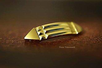 Náramky - Atlantský náramok zlatý - 7880574_