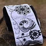 Opasky - Bielo čierny - 7878945_