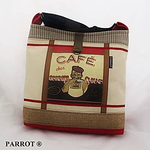 Kabelky - COFFEE BAG * no.2 * PARROT® - 7880942_