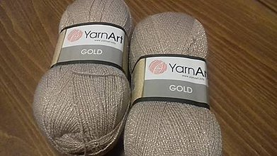 Galantéria - Yarn Art Gold - 7879448_