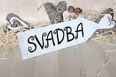 Tabuľky - tabuľka svadba - vintage - 7880856_