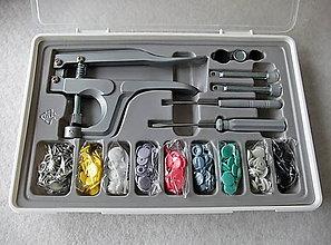 Galantéria - Súprava plastových patentiek - 7881031_