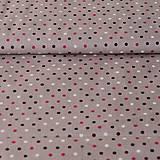 Textil - Bodka na béžovej - 7880273_