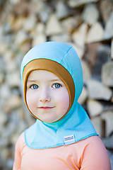Detské čiapky - KUKLA 100% merino vel.50-54cm - 7877718_