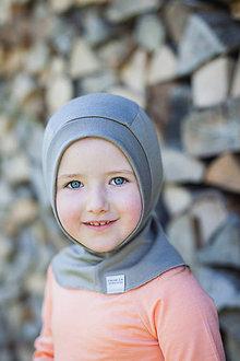 Detské čiapky - KUKLA 100% merino vel.46-50cm - 7877692_