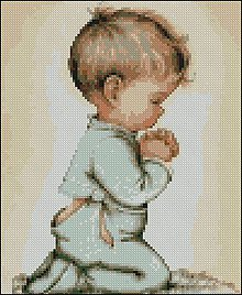 Návody a literatúra - C026 Praying Boy - 7880744_